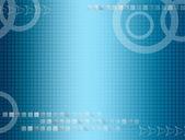 Blue illustration — Stock Photo