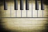 Old piano — Stock Photo