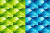 Green and blue — Stock Photo