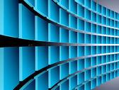 Dynamic blue — Stock Photo