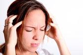 头部疼痛 — Φωτογραφία Αρχείου
