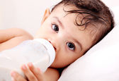 Baby milk — Stock Photo