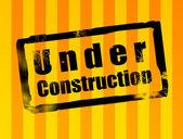 Under Contruction — Stock Photo