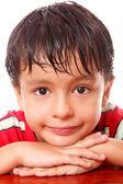 Child face — Stock Photo