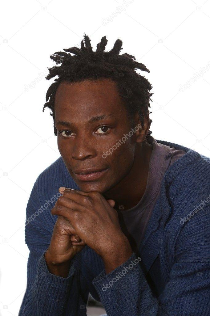 African Man with Dreadlocks — Stock Photo © fouroaks #3065110