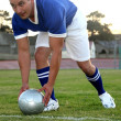 Soccer Player — Stockfoto
