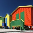 Colorful Beach Change Rooms — Stock Photo #3724145