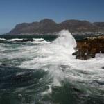Rough Ocean and Rocks — Stock Photo