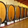 Wine Casks or Barrels — Stock Photo