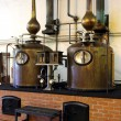 Brandy Copper Potstills - Stock Photo