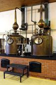Brandy Copper Potstills — Stock Photo