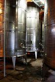 Wine Tanks — Stock Photo