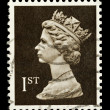 English Postage Stamp — Foto Stock
