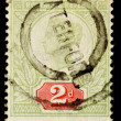 Постер, плакат: Vintage English Postage Stamp