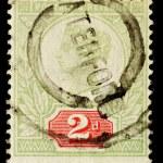 ������, ������: Vintage English Postage Stamp