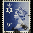 Stock Photo: Northern Ireland Used Postage Stamp