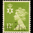 Northern Ireland Postage Stamp — 图库照片