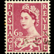 Stock Photo: Old Wales Postage Stamp