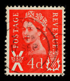 Scotland Postage Stamp — Stock Photo