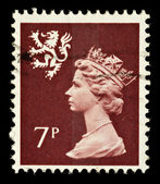 Scotland Used Postage Stamp — Stock Photo