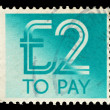England Used Postage Due Stamp — Stock Photo #2771276