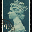 Stock Photo: England Used Postage Stamp