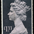 England Used Postage Stamp — Stock Photo #2771358