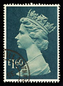 England Used Postage Stamp — Stock Photo