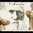 Postage Stamp Showing Charles Darwin — Stock Photo #3805248