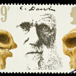 Stock Photo: Postage Stamp Showing Charles Darwin