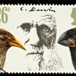 Postage Stamp Showing Charles Darwin — Stock Photo