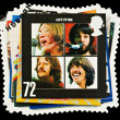 Postage Stamp Showing Beatles Pop Group — Stock Photo
