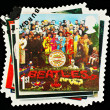 Postage Stamp Showing Beatles Pop Group — Stock Photo #3805288