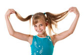 Smiling girl, a teenager. — Stock Photo