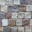 Stock Photo: Gray granite stones wall background