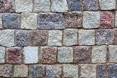 Gray granite stones wall background — Stock Photo