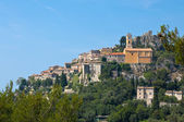 View of Eze town — Stock Photo