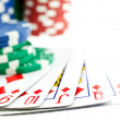 Royalty-Free Stock Photo: Straight flush