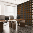 Office interior 3d — Stock Photo