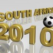 Foto Stock: 2010 south africand soccer ball 3d