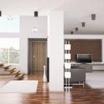 Apartment panorama 3d — Stock Photo #3715149