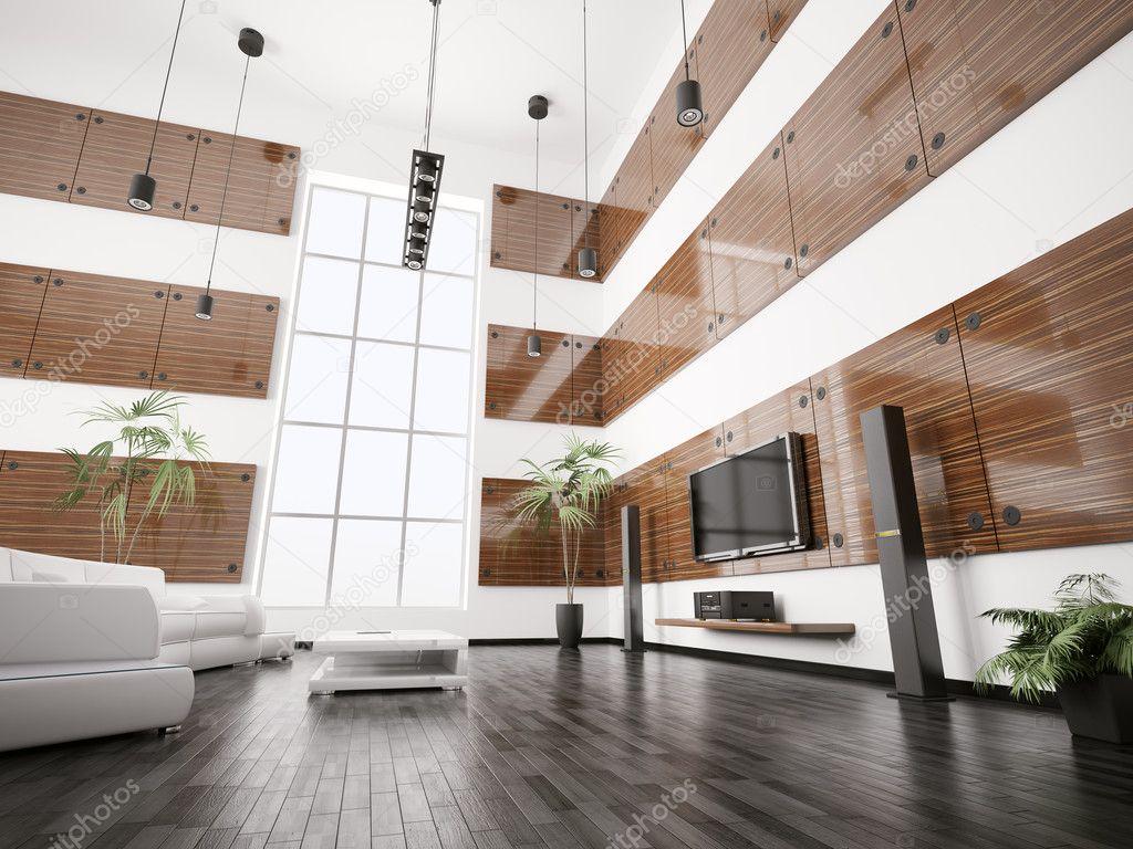 Moderne woonkamer interieur 3d render stockfoto scovad 3921247 - Moderne woonkamer fotos ...