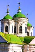 Amazing cupola of church in Kiev — Stock Photo