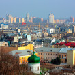 Kiev bussines and industry city landscap — Stock Photo #2790331