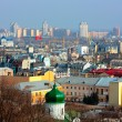 Stock Photo: Kiev bussines and industry city landscap