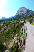 Lacet in Crimea mountains — Stock Photo