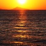 A dawn under the ocean in Crimea — Stock Photo
