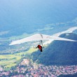 Hang glider flying in the Alps — Stock Photo #3726595