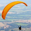 Stock Photo: Para-glider in the alps