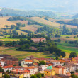 Stock Photo: Small ancient town Cigillo taken in Apennines